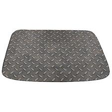 Grunge Grey Metal Tread Pattern MAT Bathmat
