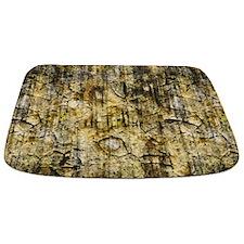 Brown Grungy Cracked Paint MAT Bathmat