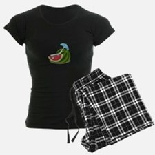 Watermelon Fruit Beach Vacation Pajamas