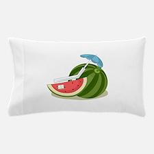 Watermelon Fruit Beach Vacation Pillow Case