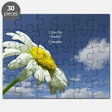 Unique I love daisies Puzzle
