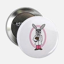 "Doctor Rabbit 2.25"" Button"