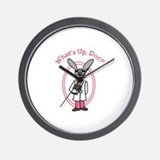 Whats Up Doc? Wall Clock