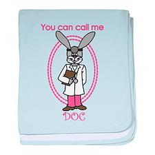 Call Me Doc baby blanket