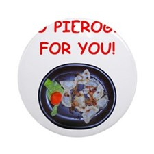 pierogis Ornament (Round)