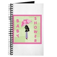 Baby Shower Pink Journal