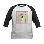 Baby Shower Pink Kids Baseball Jersey