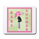 Baby Shower Pink Mousepad