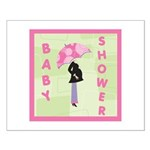 Baby Shower Pink Small Poster