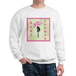 Baby Shower Pink Sweatshirt