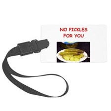 pickles Luggage Tag