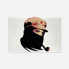 Zapatista Comandante Marcos Rectangle Magnet