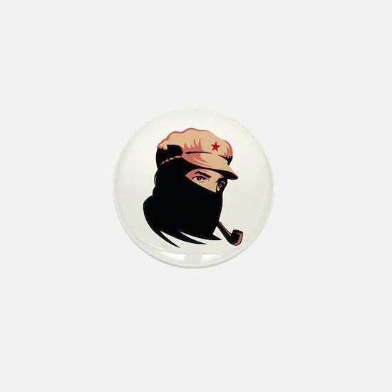 Zapatista Comandante Marcos Mini Button