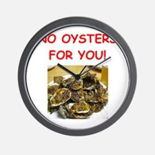 oysters Wall Clock
