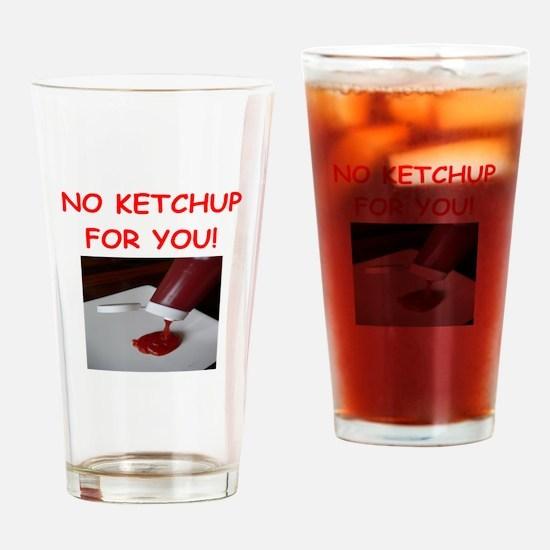 ketchup Drinking Glass