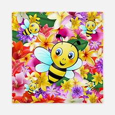 Cute Bee Queen Duvet