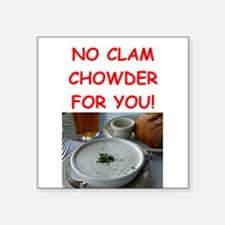 clam chowder Sticker