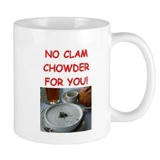 clam chowder Mugs