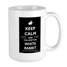 Keep Calm - Follow The White Rabbit! Mugs