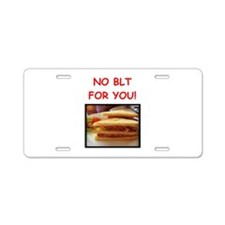 blt Aluminum License Plate