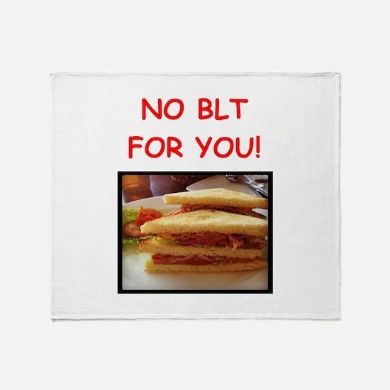 blt Throw Blanket