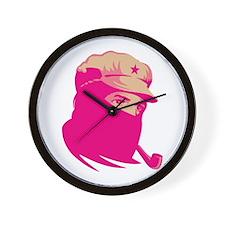 Zapatista Comandante Marcos Wall Clock