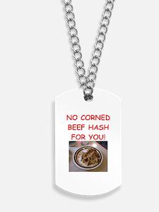 corned beef HASH Dog Tags