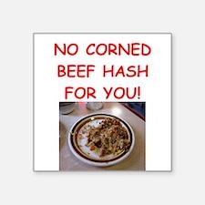 corned beef HASH Sticker