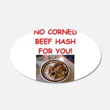 corned beef HASH Wall Decal