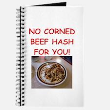 corned beef HASH Journal