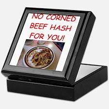 corned beef HASH Keepsake Box
