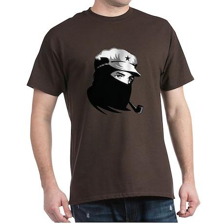 Zapatista Comandante Marcos Dark T-Shirt