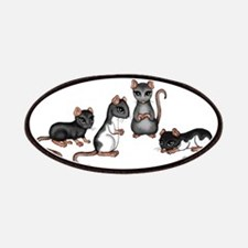 cute rats Patches