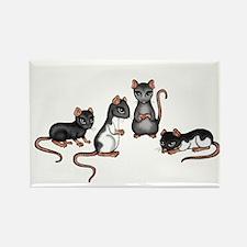 cute rats Magnets