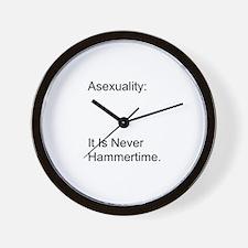 Asexual Wall Clock