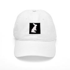 The White Rabbit! Baseball Baseball Cap