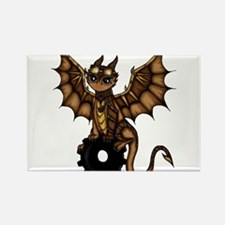 Steampunk Dragon Magnets