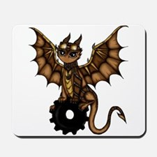 Steampunk Dragon Mousepad