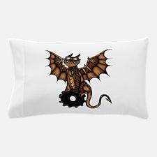 Steampunk Dragon Pillow Case