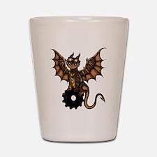 Steampunk Dragon Shot Glass