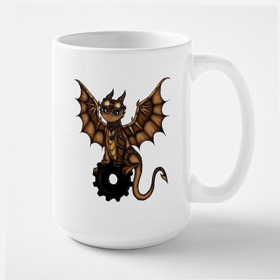 Steampunk Dragon Mugs