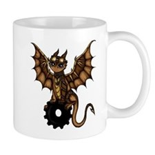 Steampunk Dragon Mugs