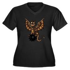 Steampunk Dragon Plus Size T-Shirt