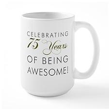 Celebrating 75 Years Drinkware Mugs