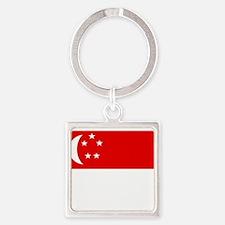Singapore Flag Keychains