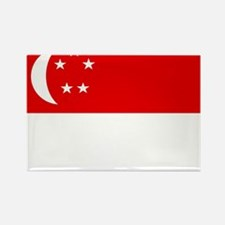 Singapore Flag Magnets