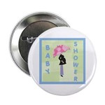 Baby Shower Blue Button
