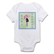 Baby Shower Blue Infant Bodysuit