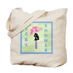 Baby Shower Blue Tote Bag