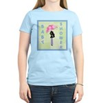 Baby Shower Blue Women's Light T-Shirt